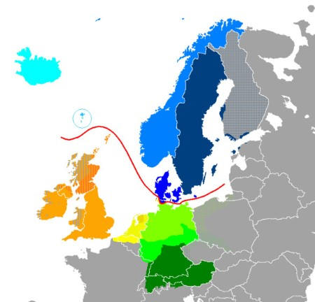 germanic-languages-in-europe