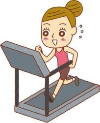 running-on-a-treadmill