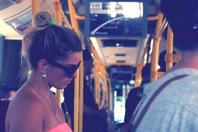 woman-on-a-bus