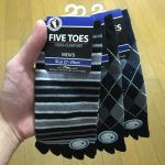 27-29cmの5本指くるぶし靴下がようやく見つかった!